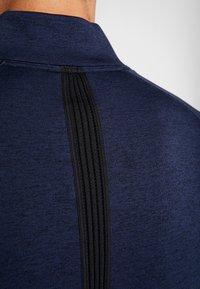 Nike Golf - DRY PLAYER HALF ZIP - Sweatshirts - obsidian/obsidian/black/obsidian - 3