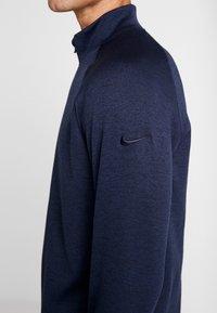 Nike Golf - DRY PLAYER HALF ZIP - Sweatshirts - obsidian/obsidian/black/obsidian - 5