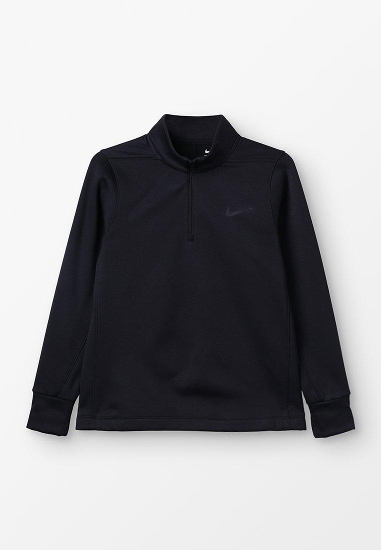 Nike Golf - THERMA HALF ZIP - Fleecepaita - black