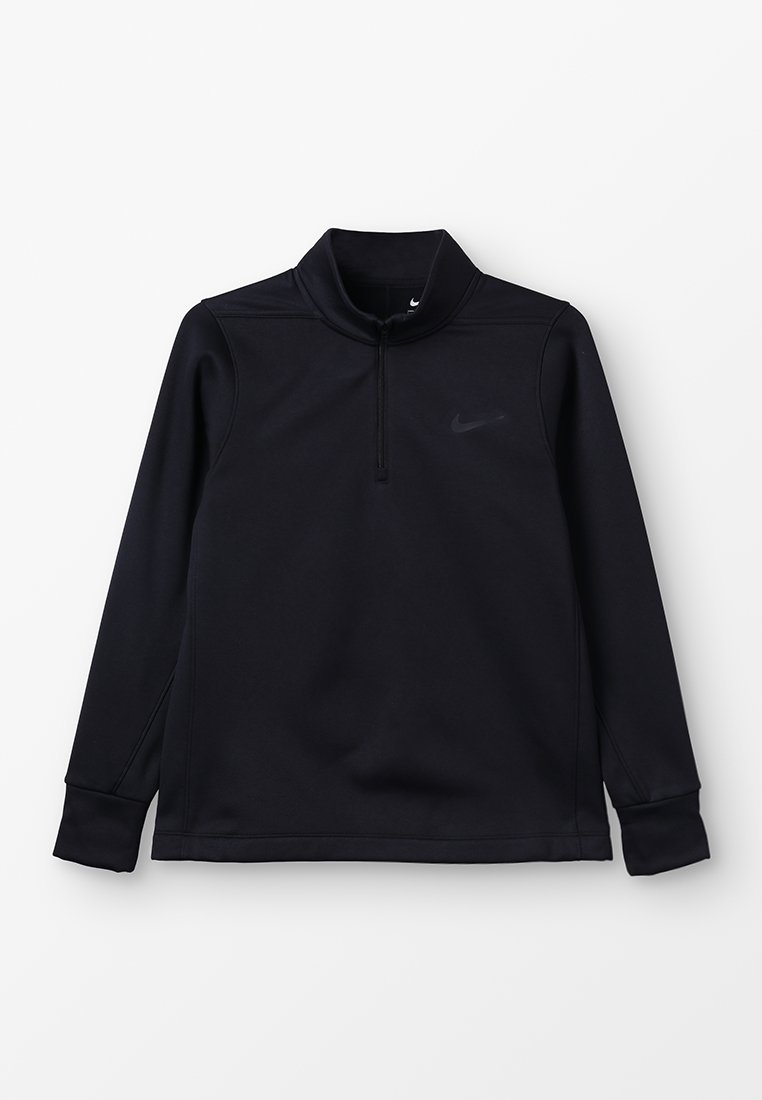 Nike Golf - THERMA HALF ZIP - Fleecepullover - black