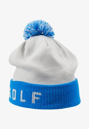BEANIE - Beanie - pure platinum/photo blue