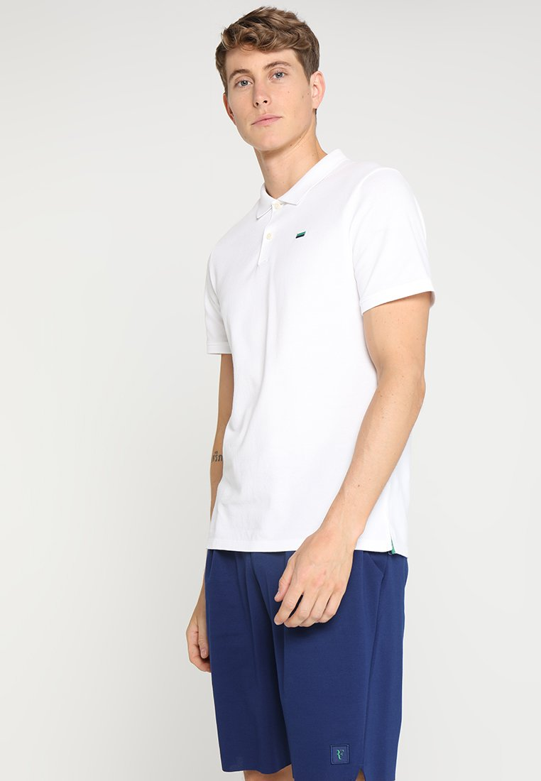 Nike Performance by Roger Federer - ESSENTIAL - Polo shirt - white