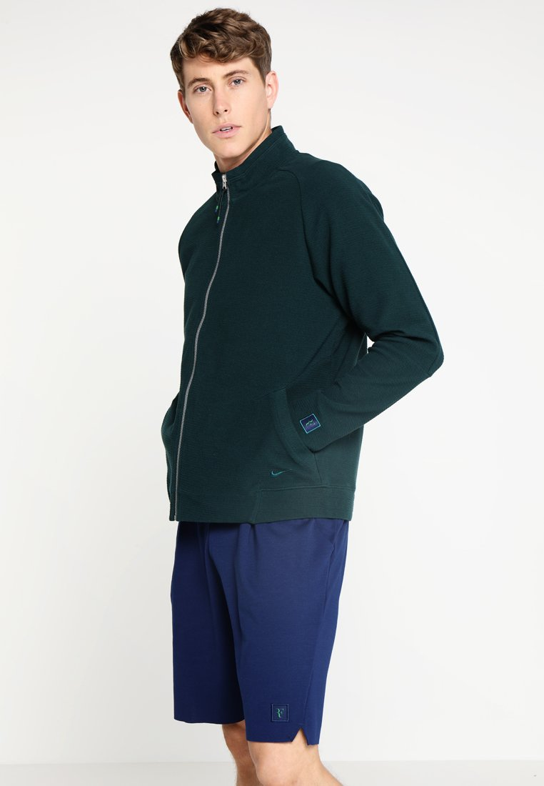 Nike Performance by Roger Federer - JACKET ESSENTIAL - Sudadera con cremallera - midnight spruce
