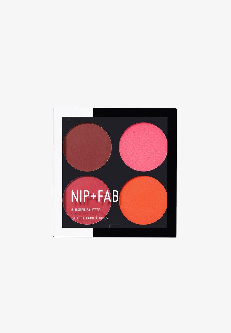 Nip+Fab - BLUSHER PALETTE - Face palette - blushed