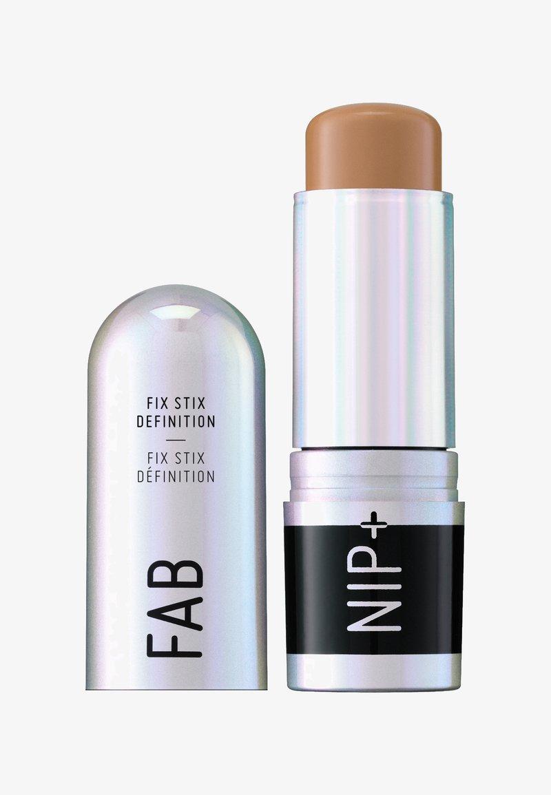 Nip+Fab - FIX STIX DEFINITION - Contouring - golden tan