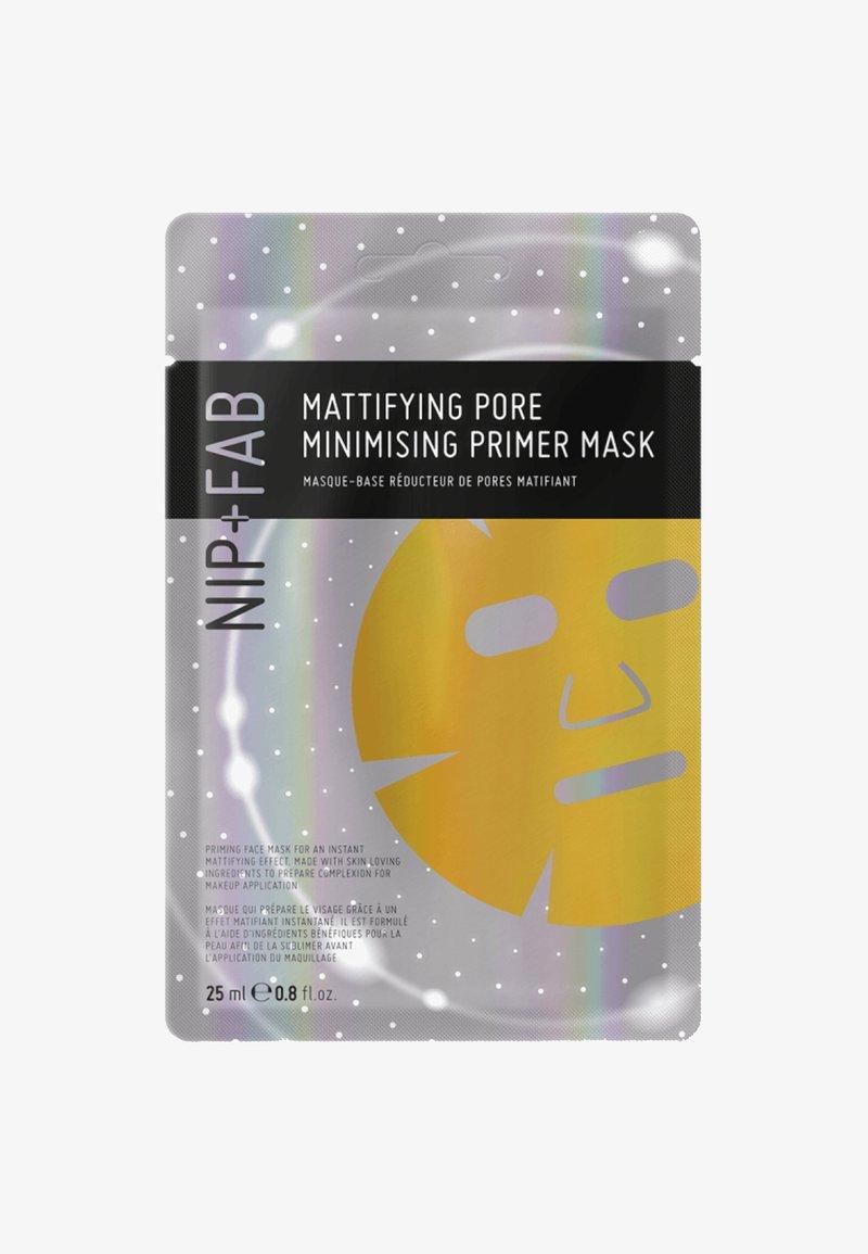 Nip+Fab - MATTIFYING OIL CONTROL PRIMER MASK - Masker - -