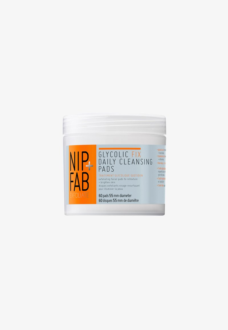 Nip+Fab - GLYCOLIC FIX PADS 80ML - Peeling do twarzy - -