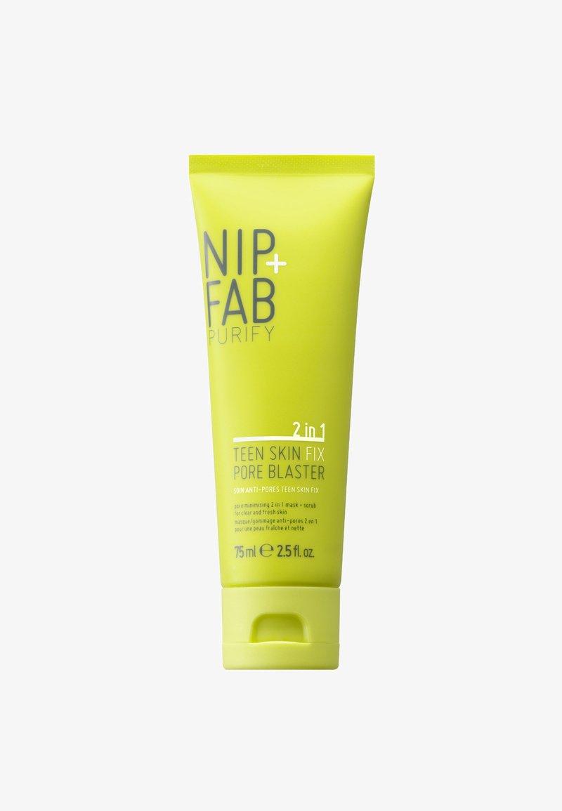 Nip+Fab - TEEN SKIN FIX PORE BLASTER MASK & SCRUB 75ML - Masque visage - -