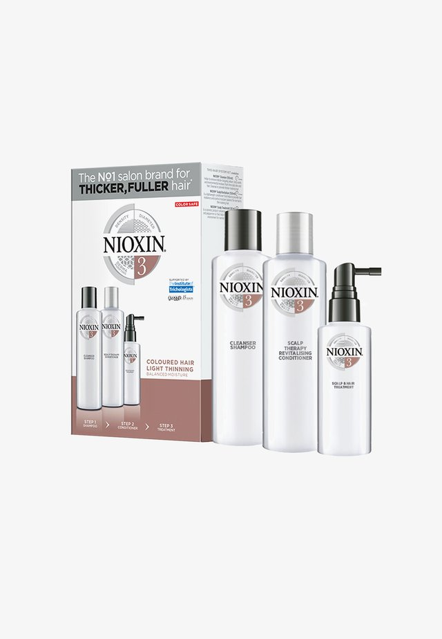 3-STUFEN-SYSTEM STARTER - Kit capelli - set 3