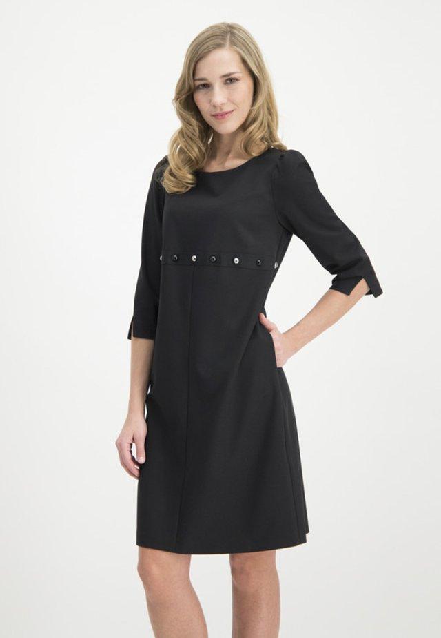 MIT NIETENBESATZ - Day dress - black