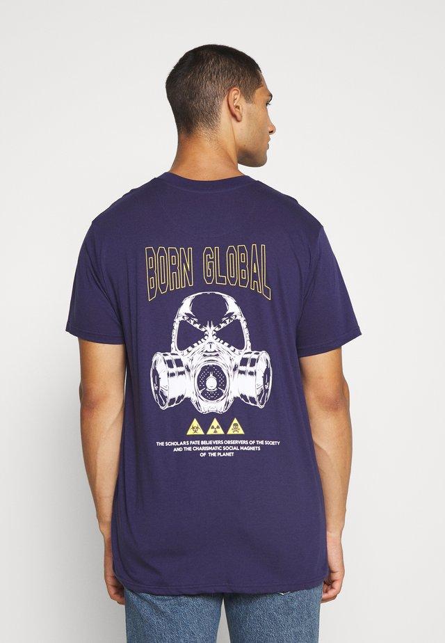 UNISEX PAYNE - T-shirt print - dark blue