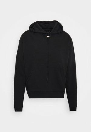 UNISEX - Bluza z kapturem - black