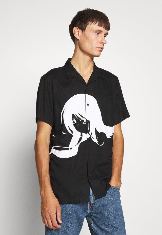 RILEY - Shirt - black