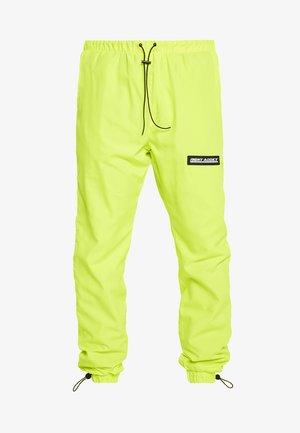 NAYORK - Spodnie treningowe - neon yellow