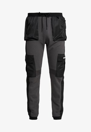 UTILITY - Cargobroek - black/grey