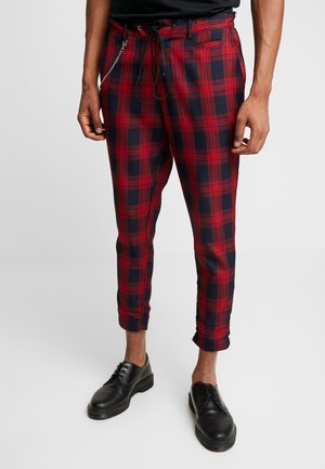 NAMAJOR - Trousers - red