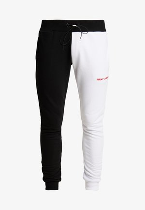 FERN - Trainingsbroek - black/ white