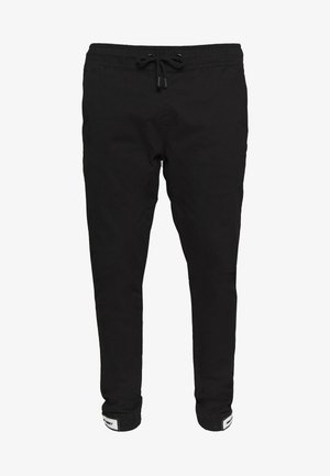 NAJONES - Tracksuit bottoms - black