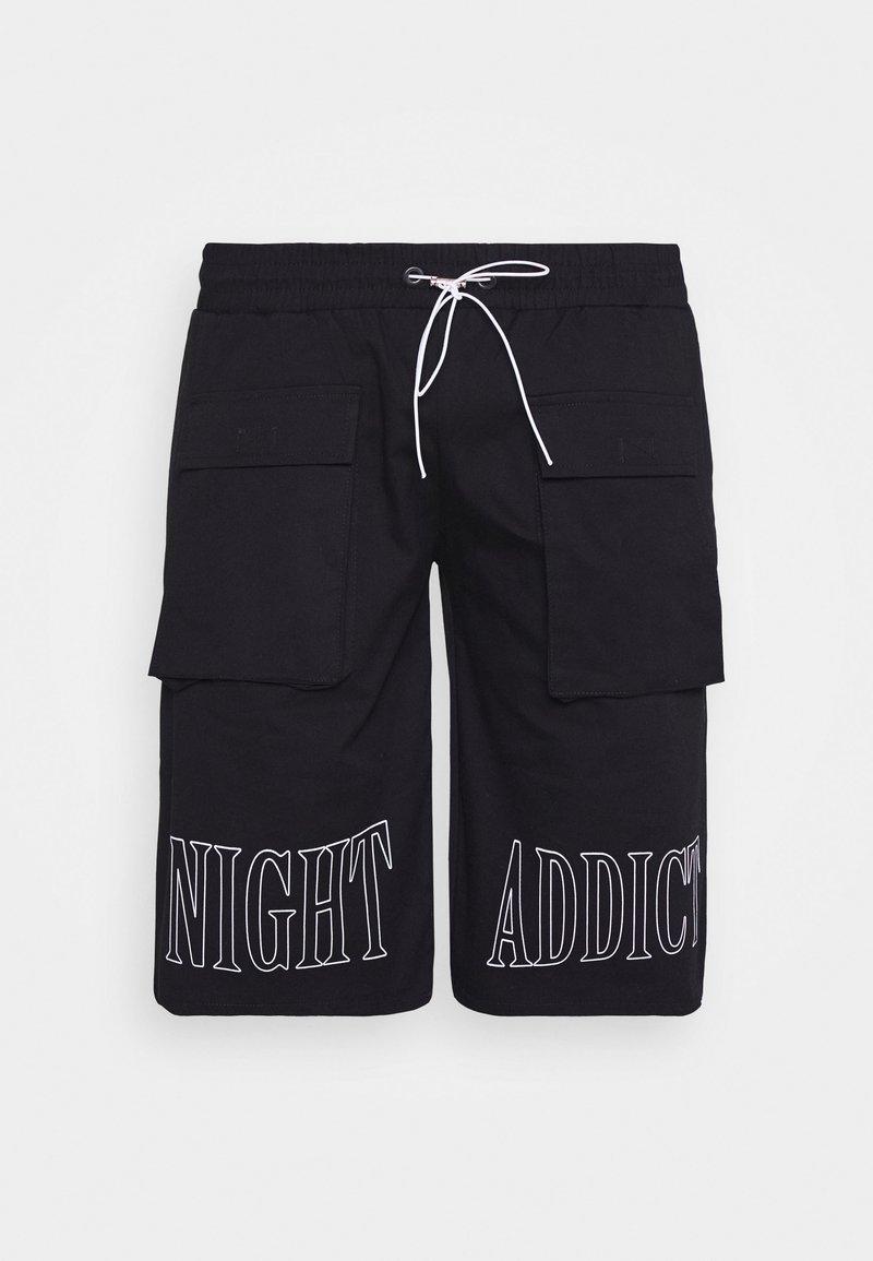 Night Addict - Shorts - black