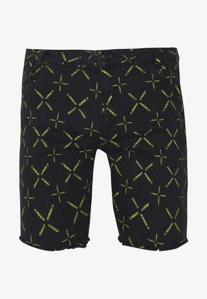 NAJOYCE - Denim shorts - black denim