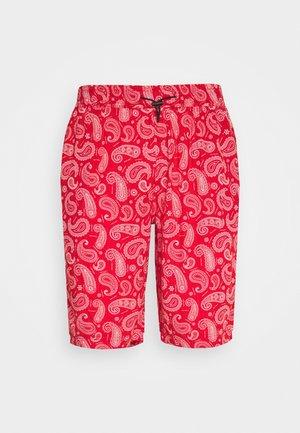 PAISLEY - Shorts - red