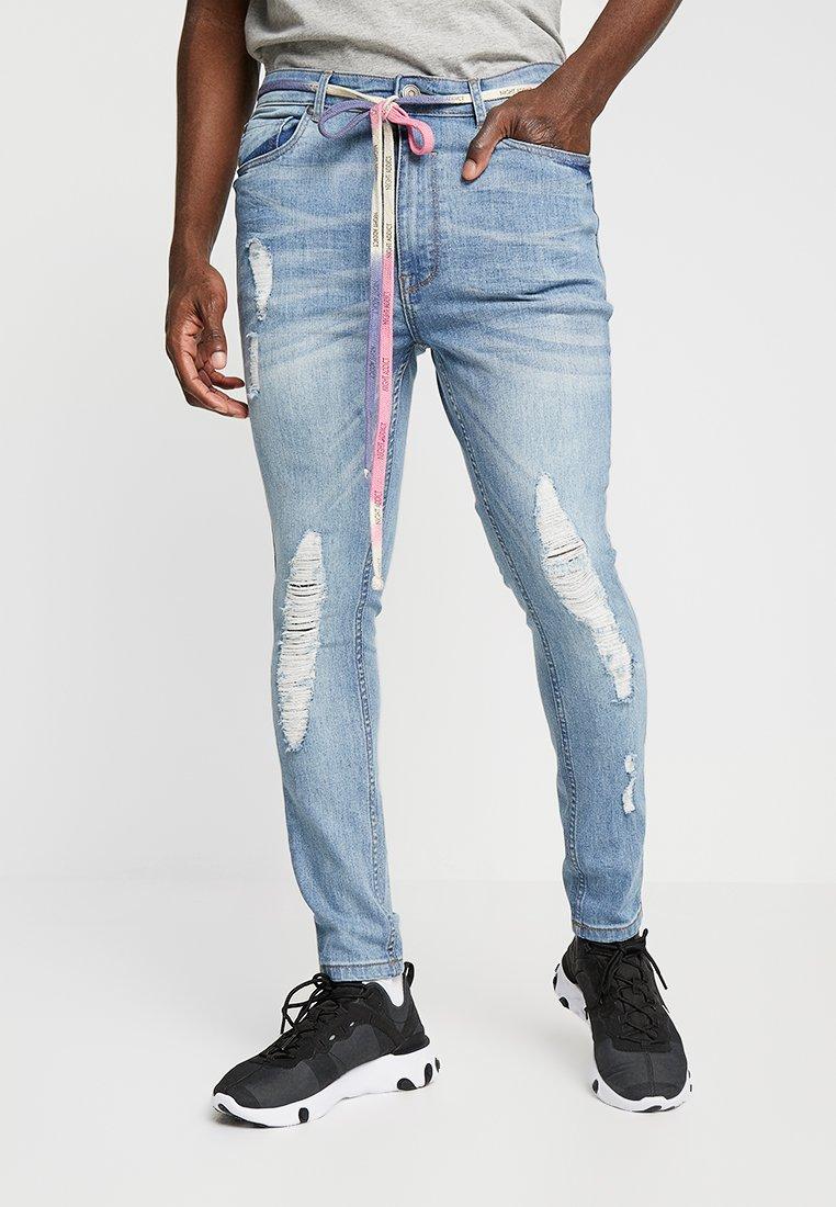 Night Addict - NABAILEY - Jeans Skinny Fit - blue denim