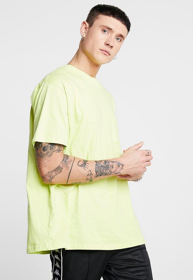 FRED - T-Shirt basic - neon yellow