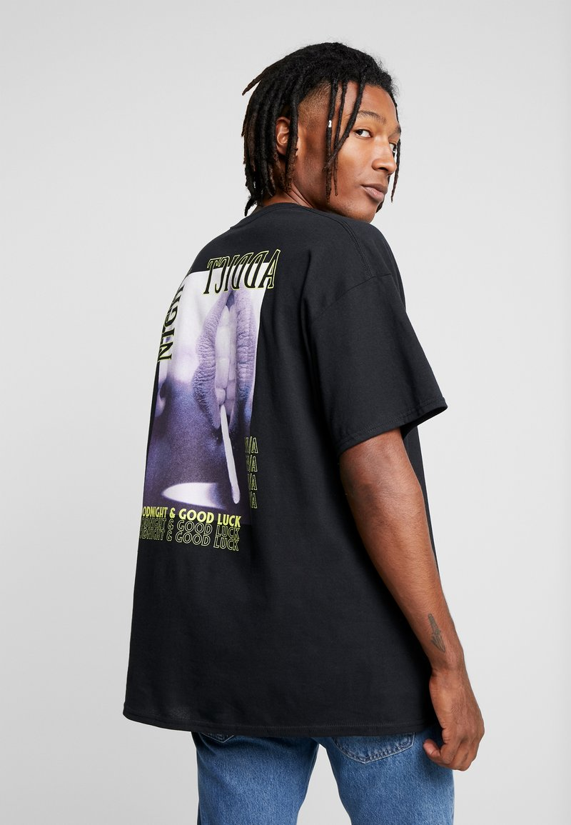 Night Addict - T-shirt print - black