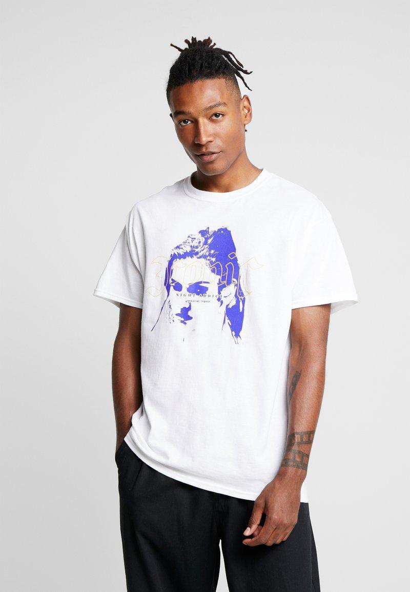 Night Addict - ICONIC - Print T-shirt - white