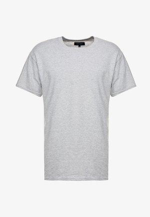 T-shirt z nadrukiem - grey marl