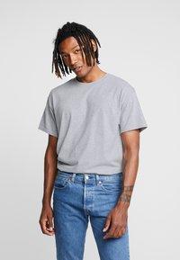 Night Addict - T-shirt con stampa - grey marl - 2