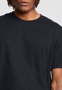Night Addict - WARPED ADDICT - T-shirt con stampa - black - 3