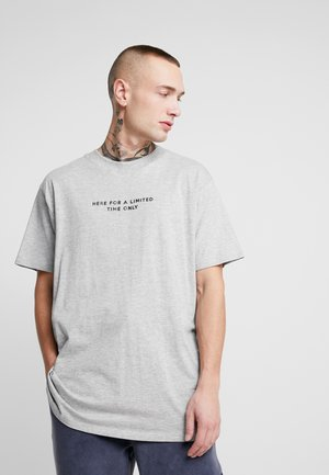 LIMITEB - T-Shirt print - grey