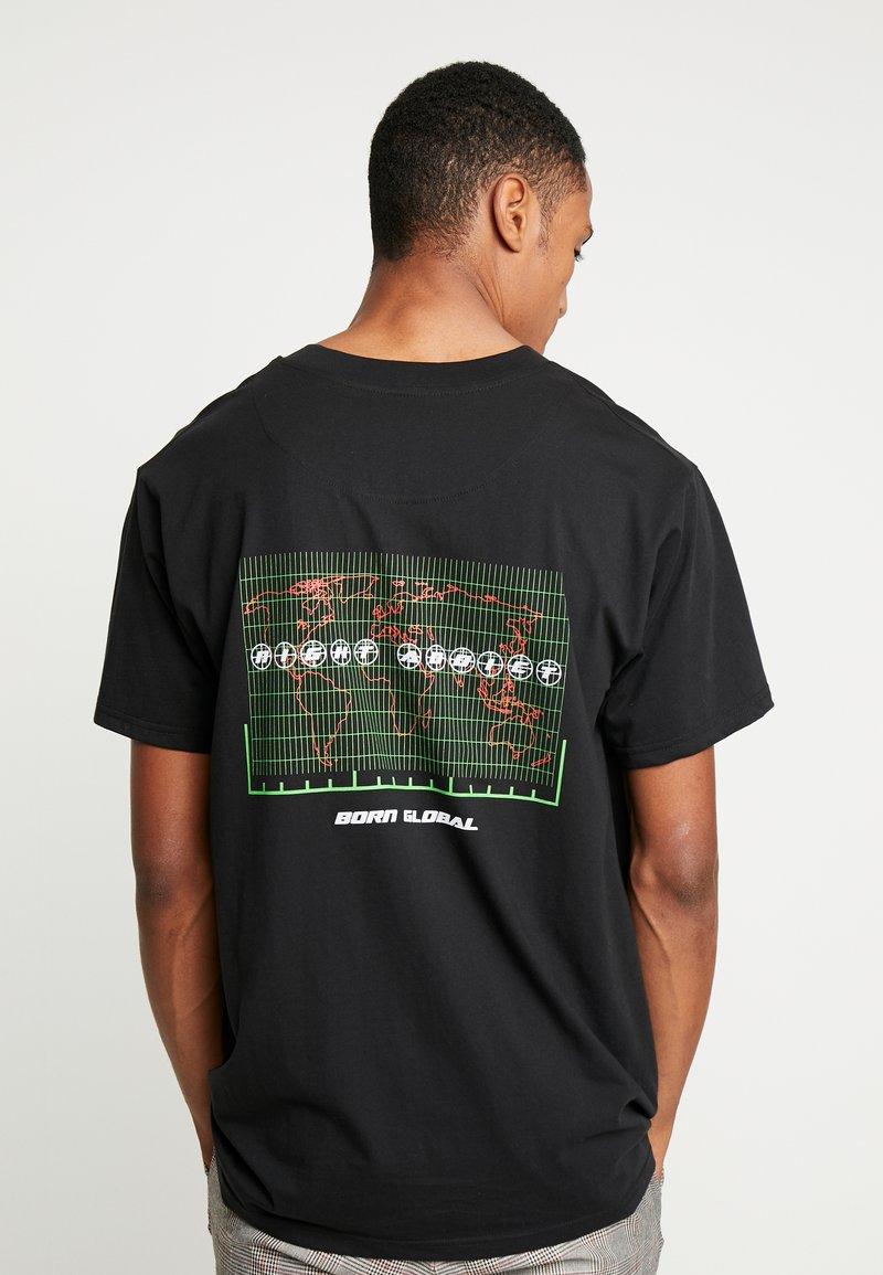 Night Addict - TOUR - T-shirt con stampa - black