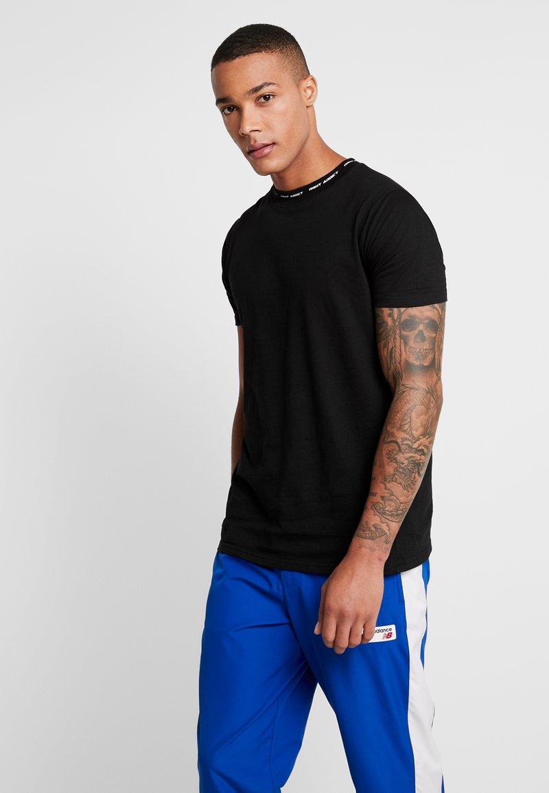 Night Addict - T-shirt con stampa - black