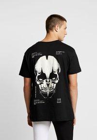 Night Addict - SKULL - Print T-shirt - black - 0