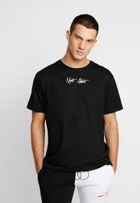 Night Addict - SKULL - Print T-shirt - black - 2