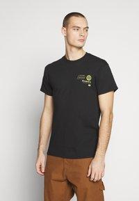 Night Addict - HONSHU - T-shirt con stampa - black - 2