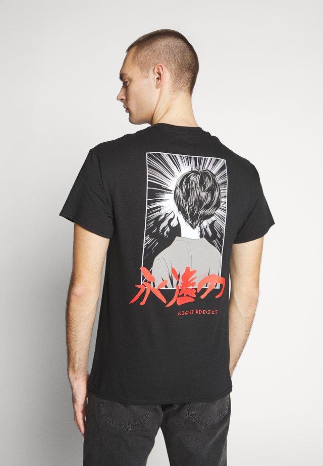 ETERNAL - T-Shirt print - black