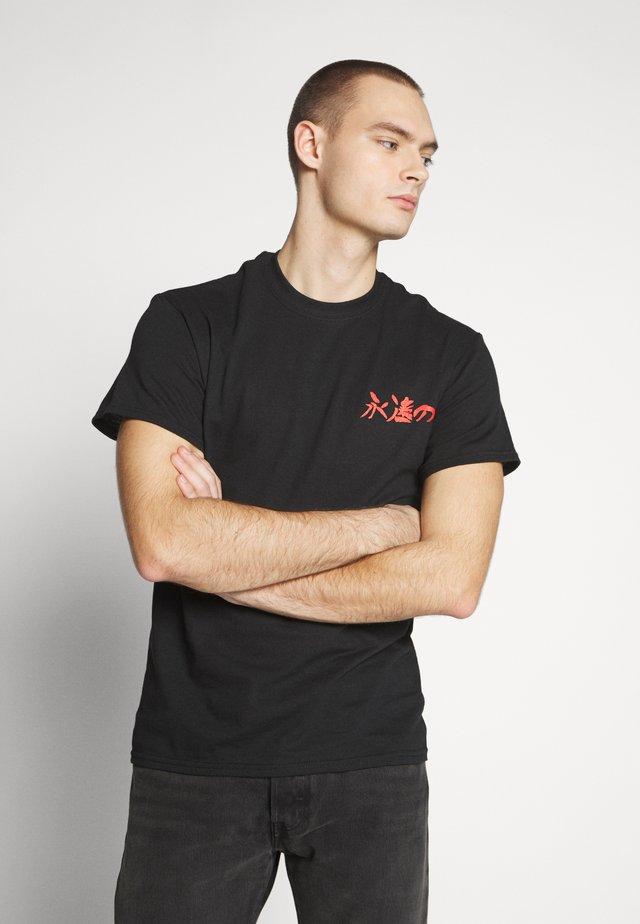 ETERNAL - Print T-shirt - black