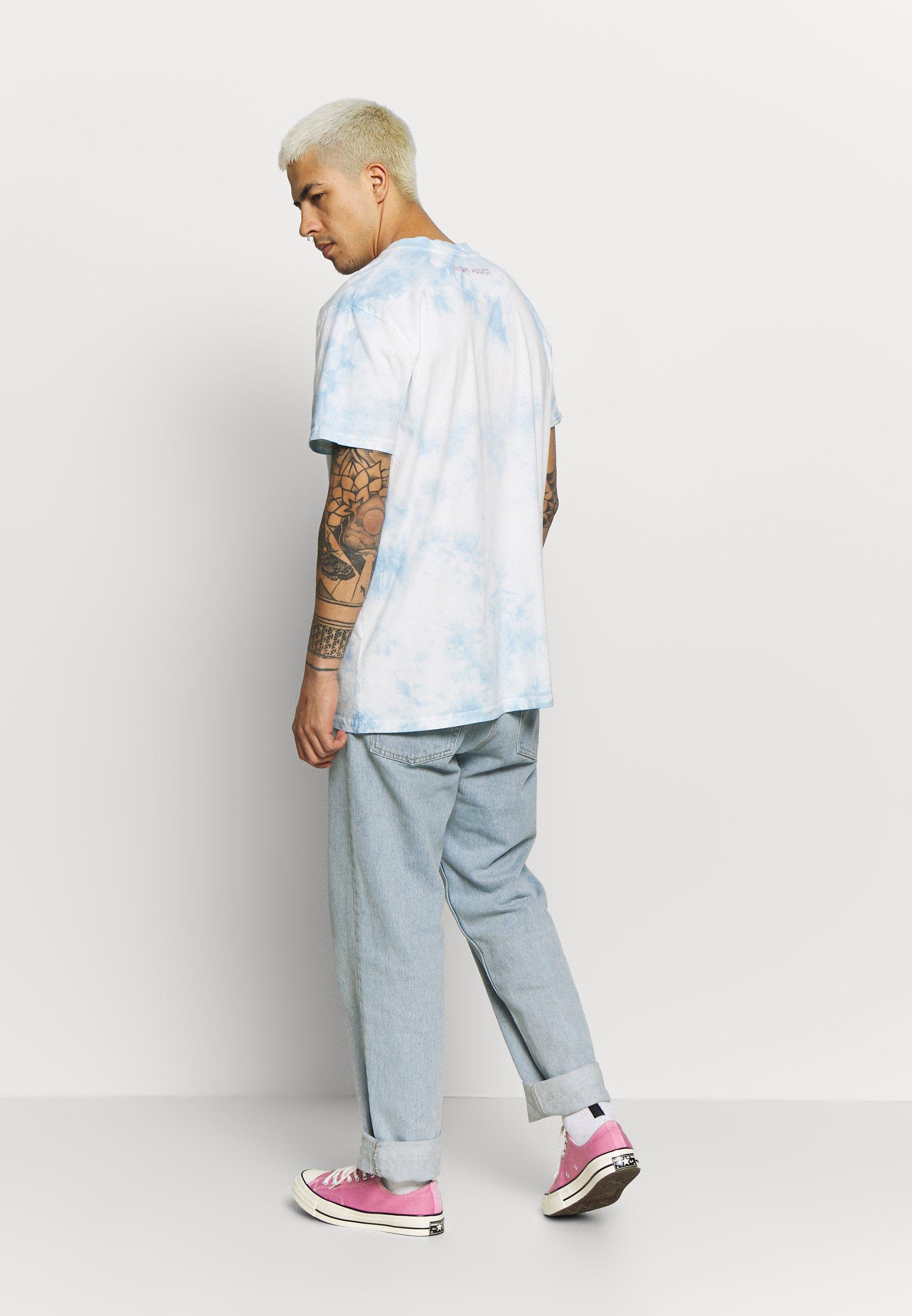 Night Addict T-shirt z nadrukiem - blue