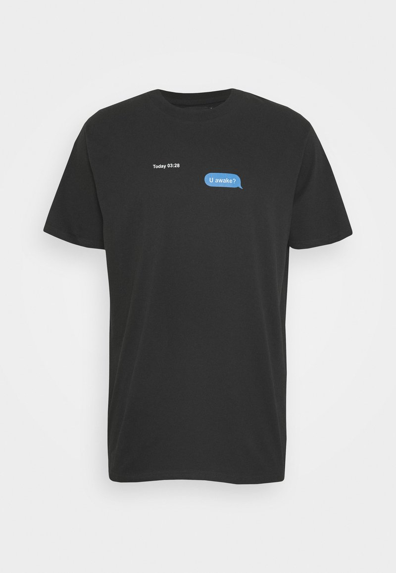 Night Addict - AWAKE - T-shirts med print - black