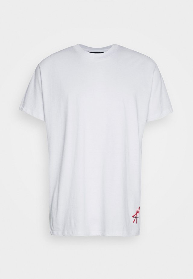 BUYA - Print T-shirt - white