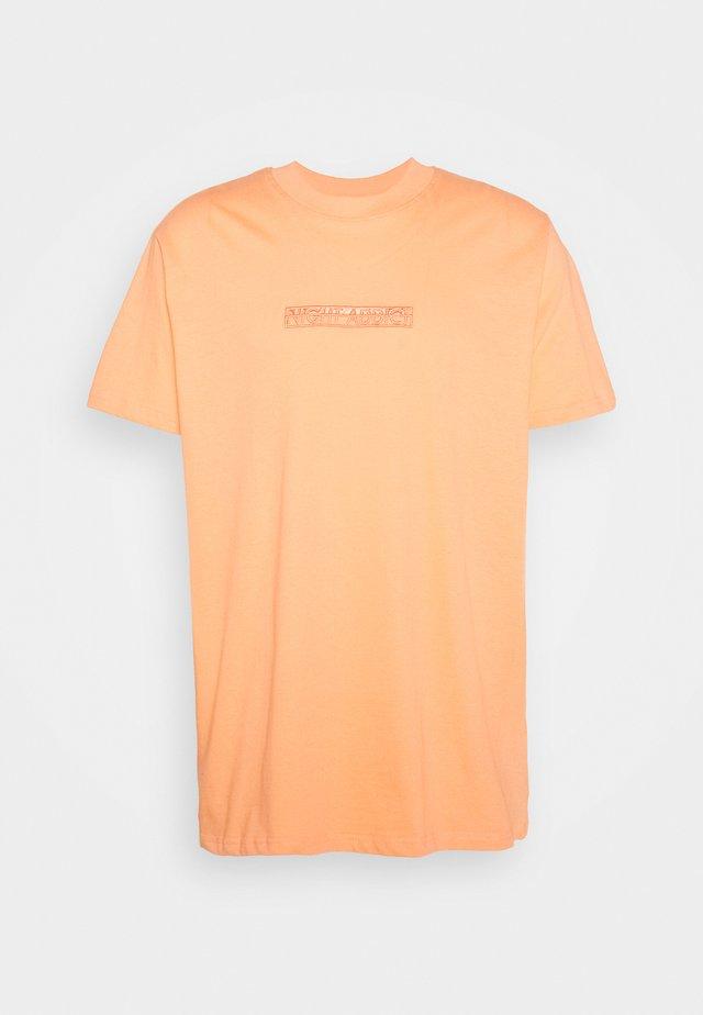 T-shirts print - coral