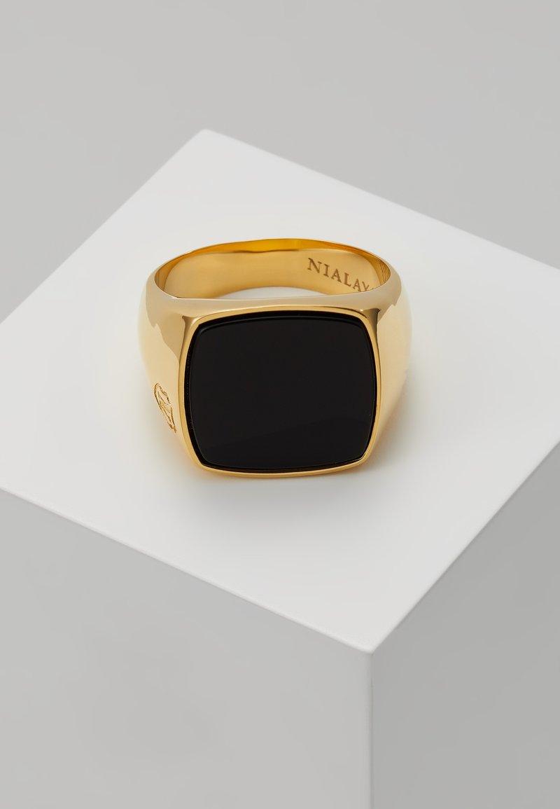 Nialaya - Ring - gold-coloured