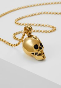 Nialaya - CHAIN WITH SKULL PENDANT - Necklace - gold-coloured - 4