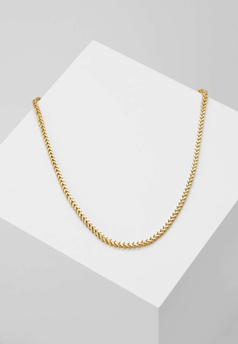 Nialaya - SQUARED CHAIN  - Necklace - gold