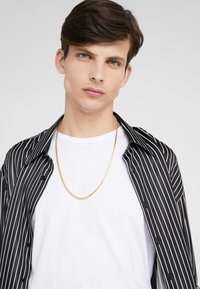 Nialaya - SQUARED CHAIN  - Necklace - gold - 1