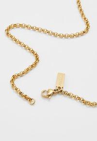 Nialaya - CHAIN WITH CROSS PENDANT - Náhrdelník - gold-coloured - 2
