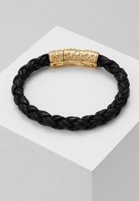 Nialaya - BRAIDED LOCK IN  - Bracelet - black - 0